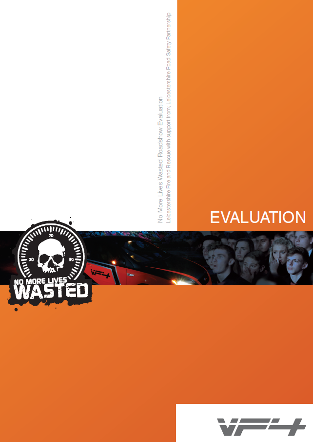 No More Lives Wasted report cover