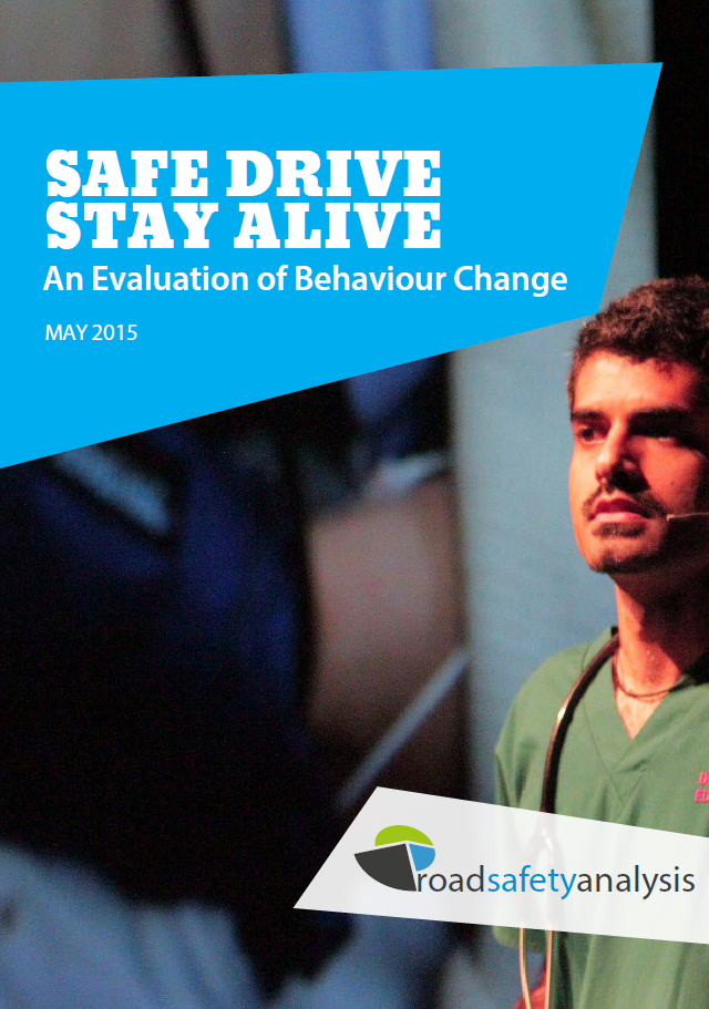 Safe Drive Stay Alive report cover