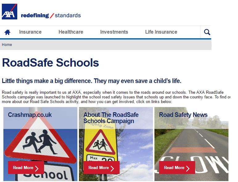 Roadsafe Schools AXA