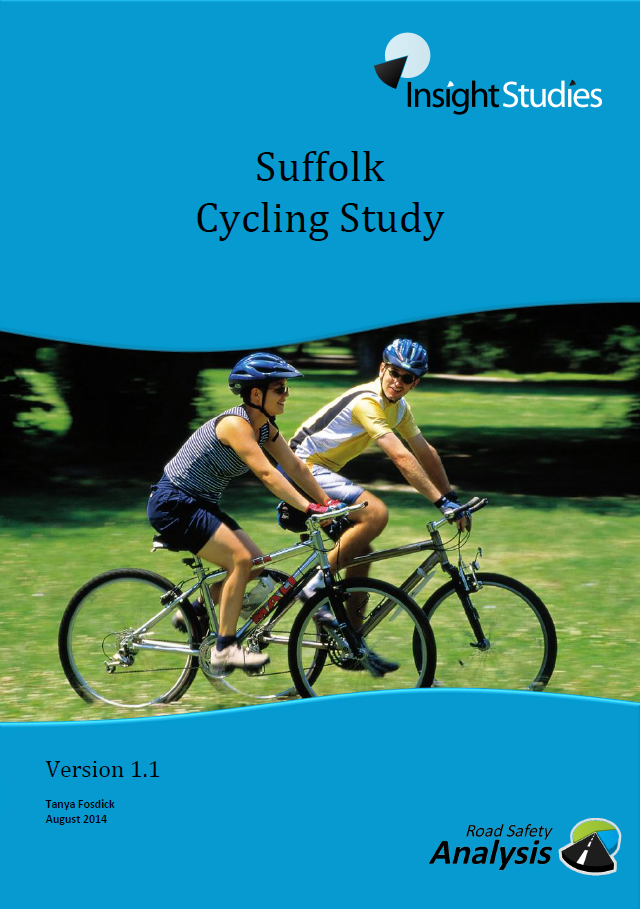 Suffolk Cycling Study front cover