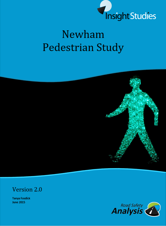 Newham Pedestrian Study front cover