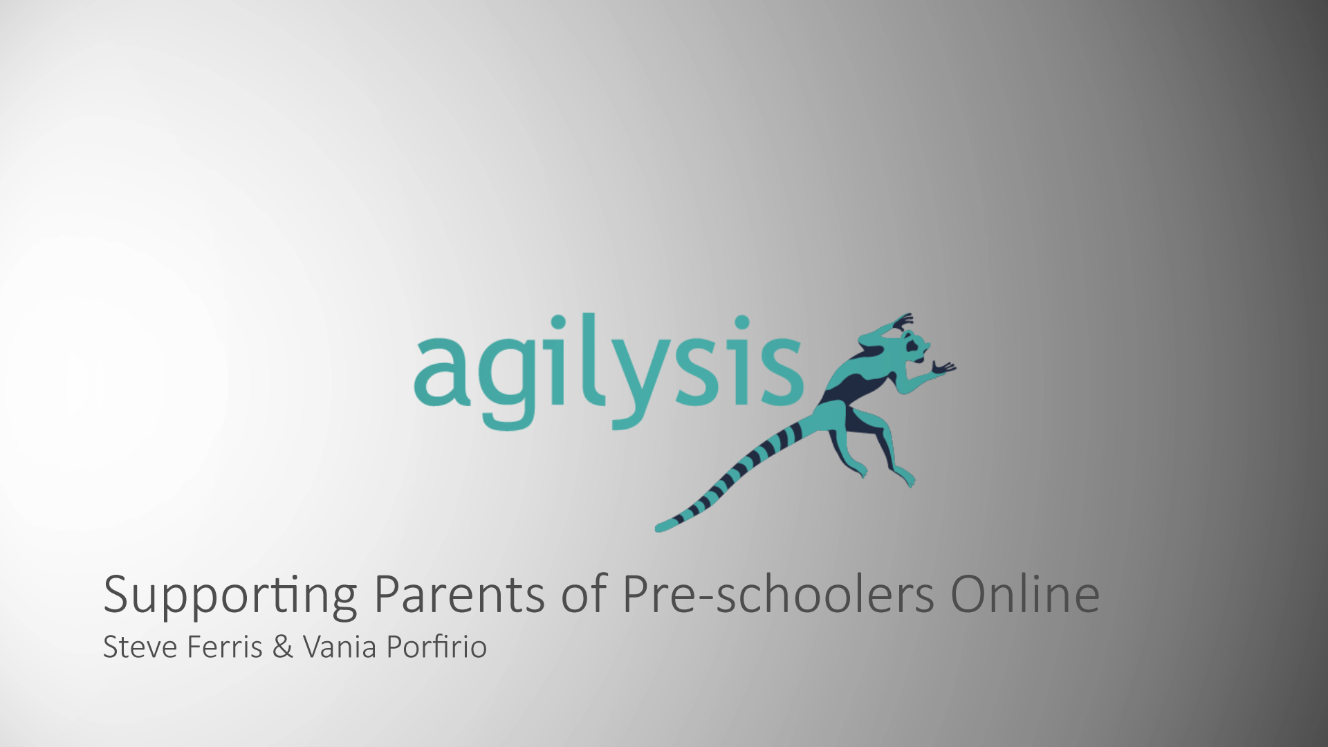 Supporting Parents of Pre-schoolers Online