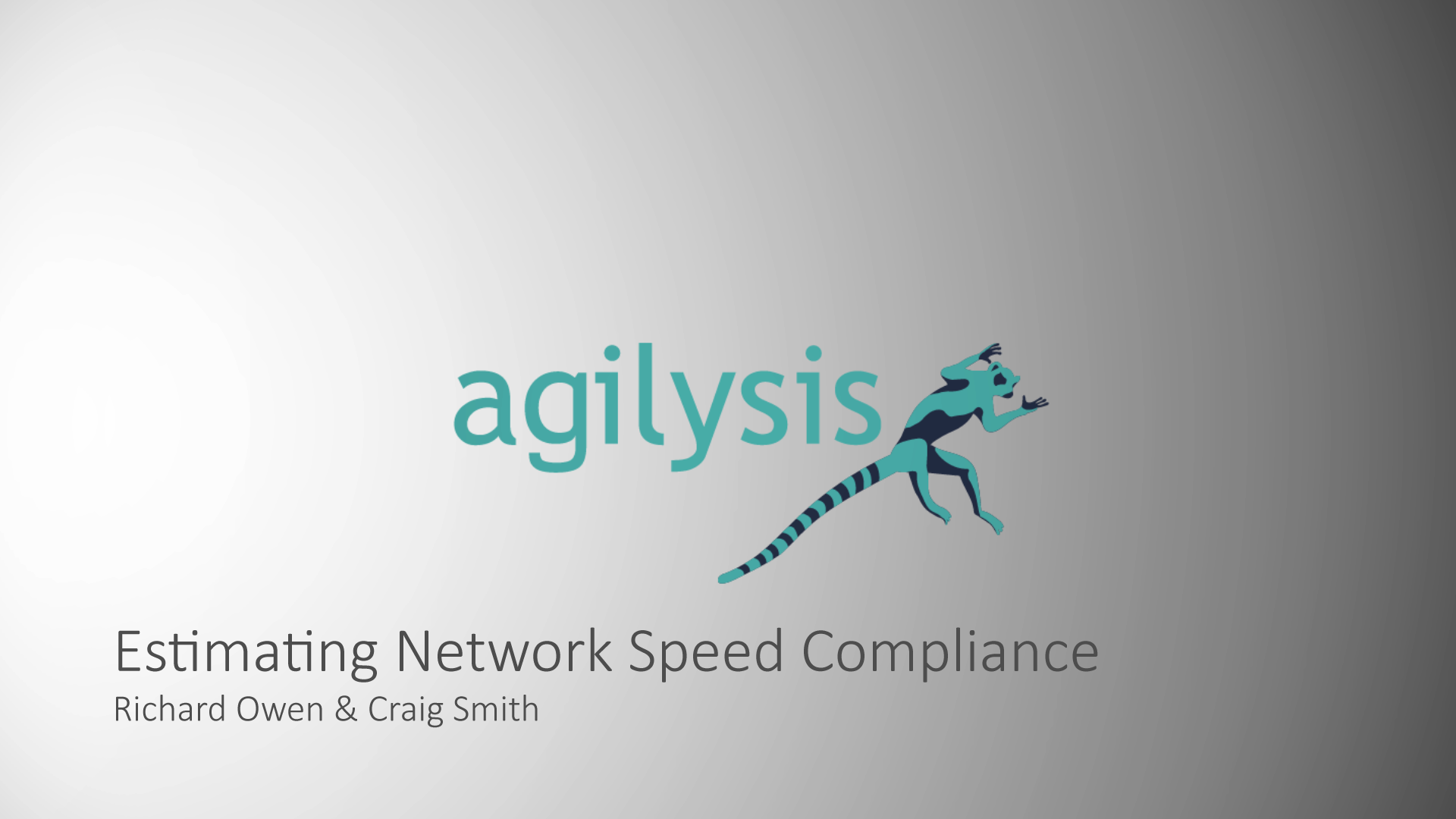 Estimating Network Speed Compliance