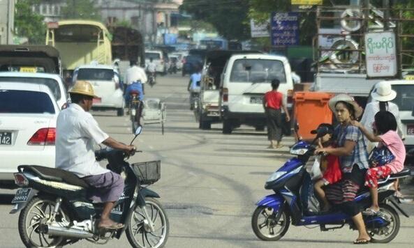 Myanmar-bike